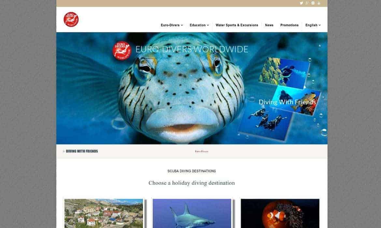 euro divers worldwide