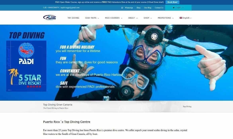 top diving