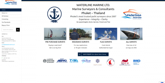 waterline marine phuket boat surveys