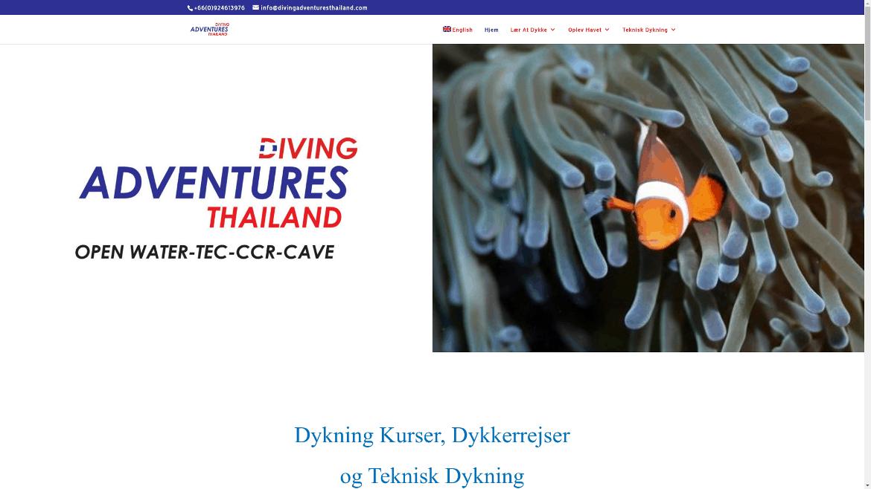 diving adventures thailand
